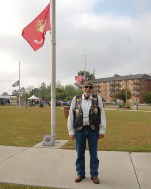 Wolfe USMC Flag